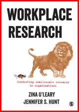 Workplace Research: Conducting small-scale research in organizations