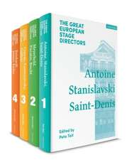 The Great European Stage Directors Set 1: Volumes 1-4: Pre-1950