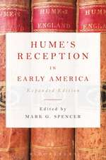 Hume's Reception in Early America: Expanded Edition