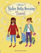 Sticker Dolly Dressing Travel