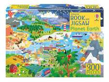 PLANET EARTH BOOK AND JIGSAW