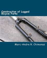 Construction of Lugged Bicycle Forks
