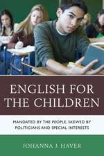 English for the Children