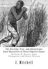 The Exciting, True, and Adventurous Slave Narratives of Three Fugitive Slaves
