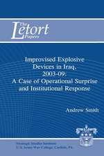 Improvised Explosive Devices in Iraq, 2003-2009