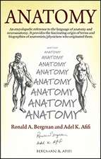 Anatomy: An encyclopedic reference to the language of anatomy and neuroanatomy. It provides the fascinating origin of terms and biographies of anatomists/physicians who originated them