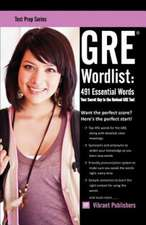GRE Wordlist: 491 Essential Words