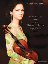 In 27 Pieces: The Hilary Hahn Encores: Violin and Piano