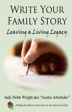 Write Your Family Story