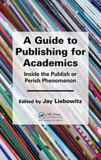 A Guide to Publishing for Academics