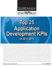 Top 25 Application Development Kpis of 2011-2012