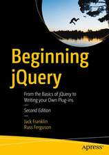 Beginning jQuery: From the Basics of jQuery to Writing your Own Plug-ins