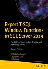 Expert T-SQL Window Functions in SQL Server 2019