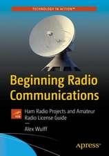 Beginning Radio Communications