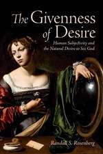 Givenness of Desire