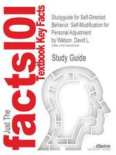 Studyguide for Self-Directed Behavior