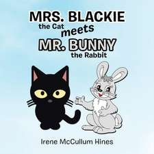 Mrs. Blackie the Cat Meets Mr. Bunny the Rabbit