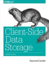 Client–Side Data Storage