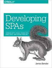 Developing SPAs