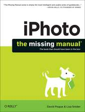 iPhoto – The Missing Manual
