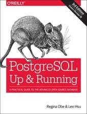 PostgreSQL – Up and Running 3e