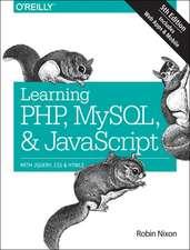 Learning PHP, MySQL & JavaScript 5e