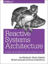 Reactive Systems Architecture