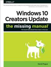 Windows 10 – The Missing Manual 2e