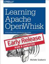 Learning Apache OpenWhisk
