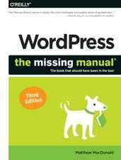 WordPress: The Missing Manual, 3E