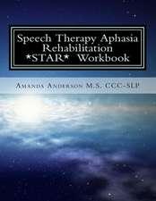 Speech Therapy Aphasia Rehabilitation Workbook