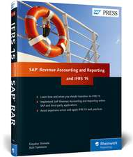 IFRS 15 and SAP Revenue Accounting and Reporting