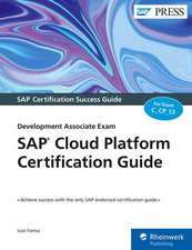 SAP Cloud Platform Certification Guide