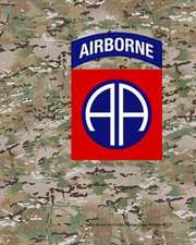 82nd Airborne Division Camouflage Notebook:  A Practical Guide to Living Your Best Life