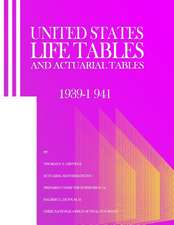 United States Life Tables and Actuarial Tables 1939-1941