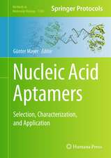 Nucleic Acid Aptamers: Selection, Characterization, and Application