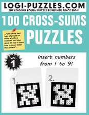100 Cross-Sums Puzzles