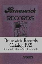 Brunswick Records Catalog 1921