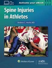 Spine Injuries in Athletes: Print + Ebook with Multimedia