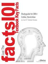 Studyguide for Om 4 by Collier, David Alan, ISBN 9781305133136