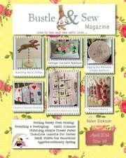 Bustle & Sew Magazine April 2014