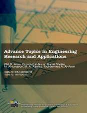 Advance Topics in Engineering Research and Applications