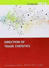 Direction of Trade Statistics Yearbook