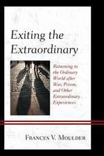EXITING THE EXTRAORDINARY RETUPB
