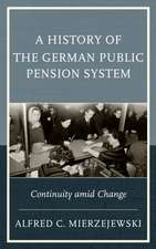 A History of the German Public Pension System