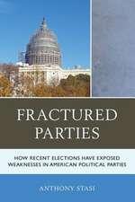 FRACTURED PARTIES HOW RECENT EPB
