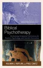 Biblical Psychotherapy