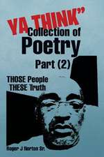 YA Think Collection of Poetry Part (2)