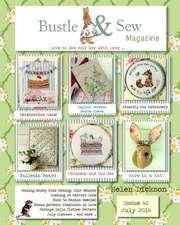 Bustle & Sew Magazine July 2014