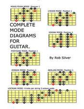 Complete Mode Diagrams for Guitar